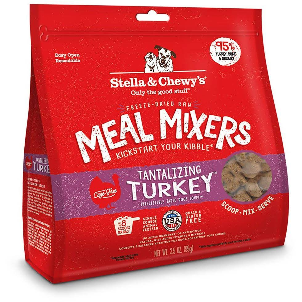 Stella and Chewy's Dog Food - Tantalizing Turkey Meal Mixers, 9oz