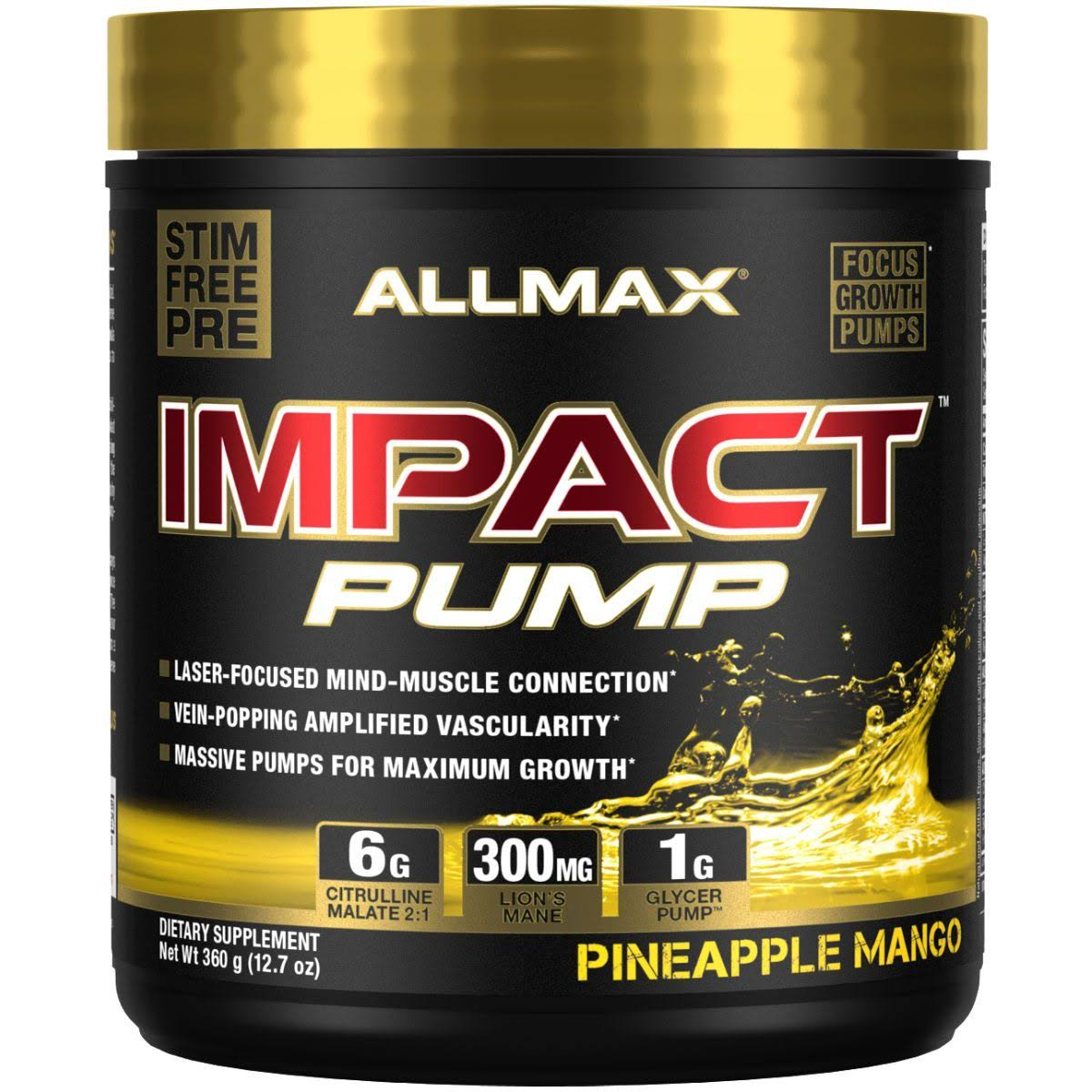 Allmax Nutrition | Impact Pump - Pineapple Mango