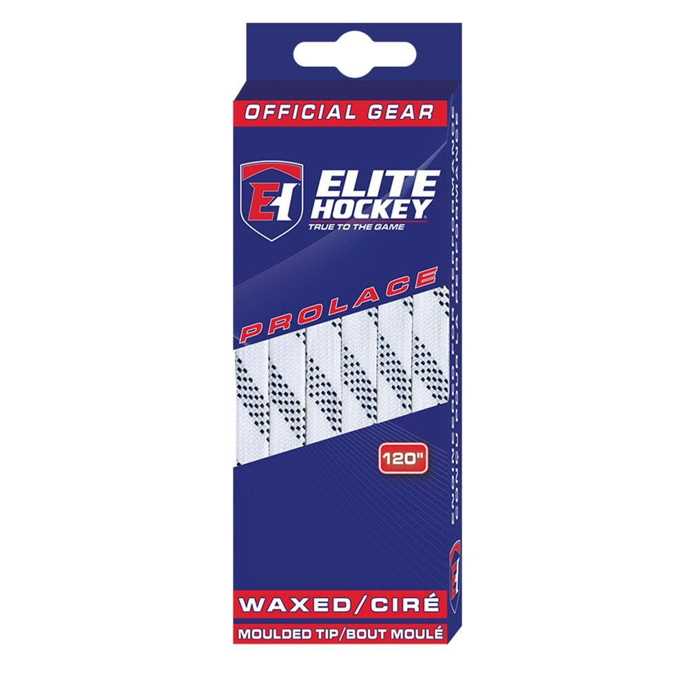Elite Hockey Prolace Waxed Molded Tip Laces