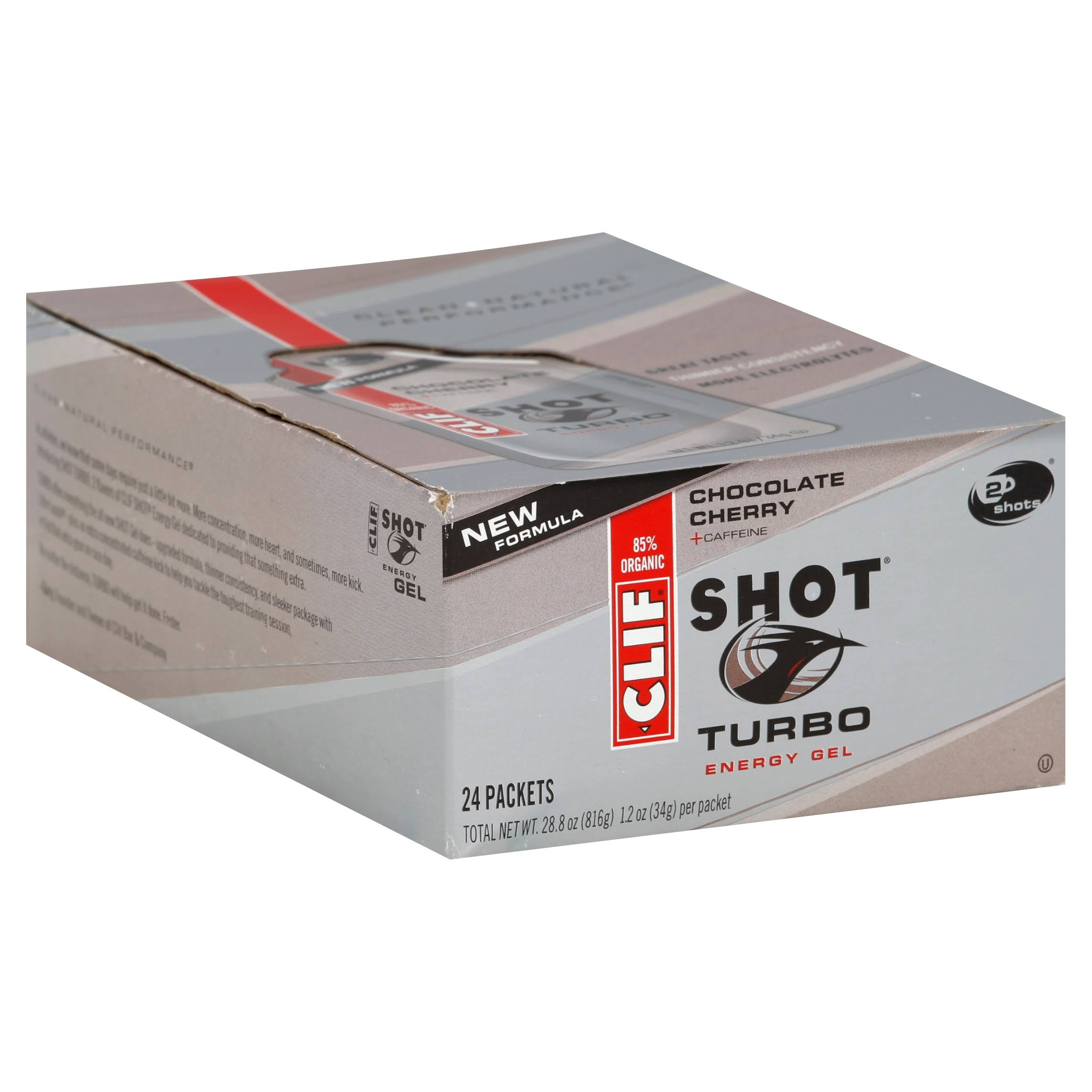 Clif Shot Energy Gel - Chocolate Cherry
