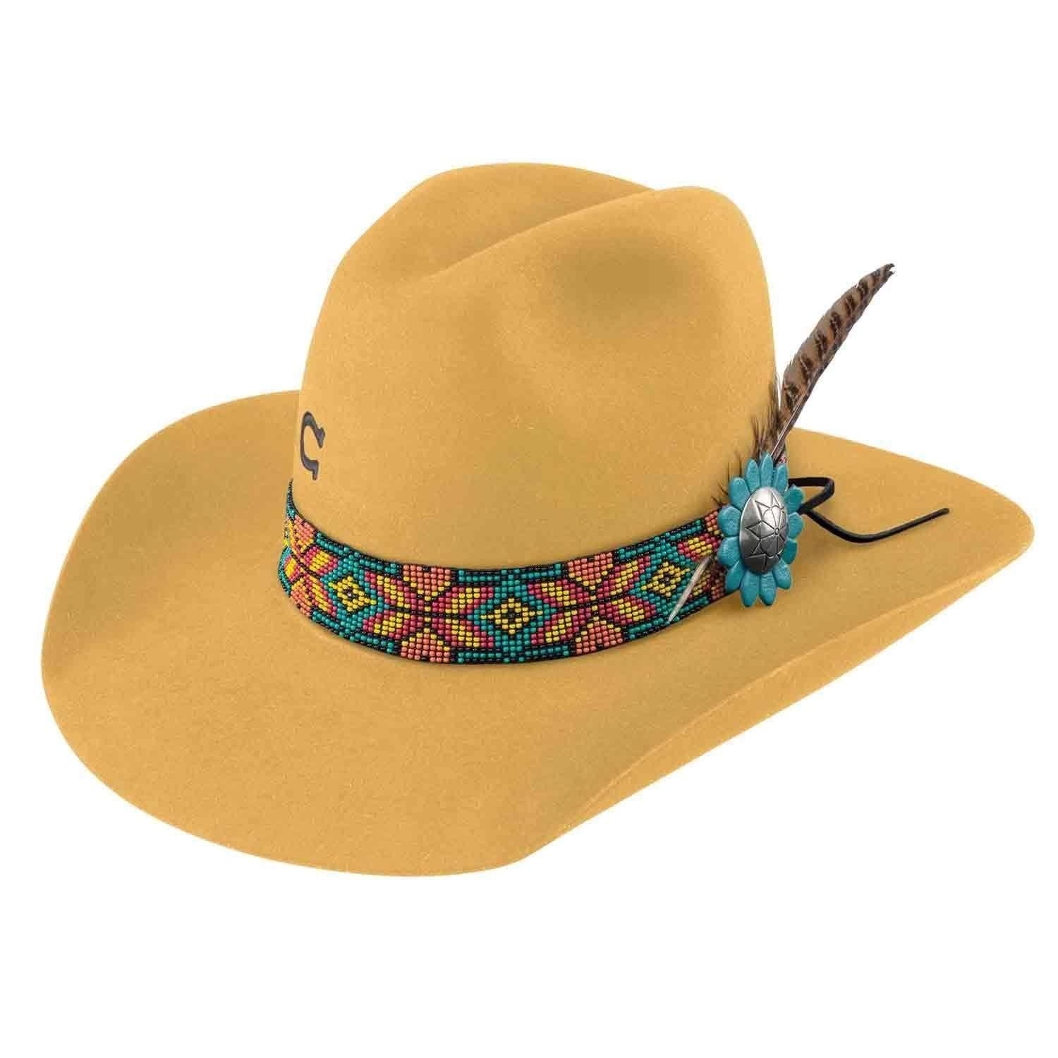 Charlie 1 Horse Gold Digger Hat Yellow