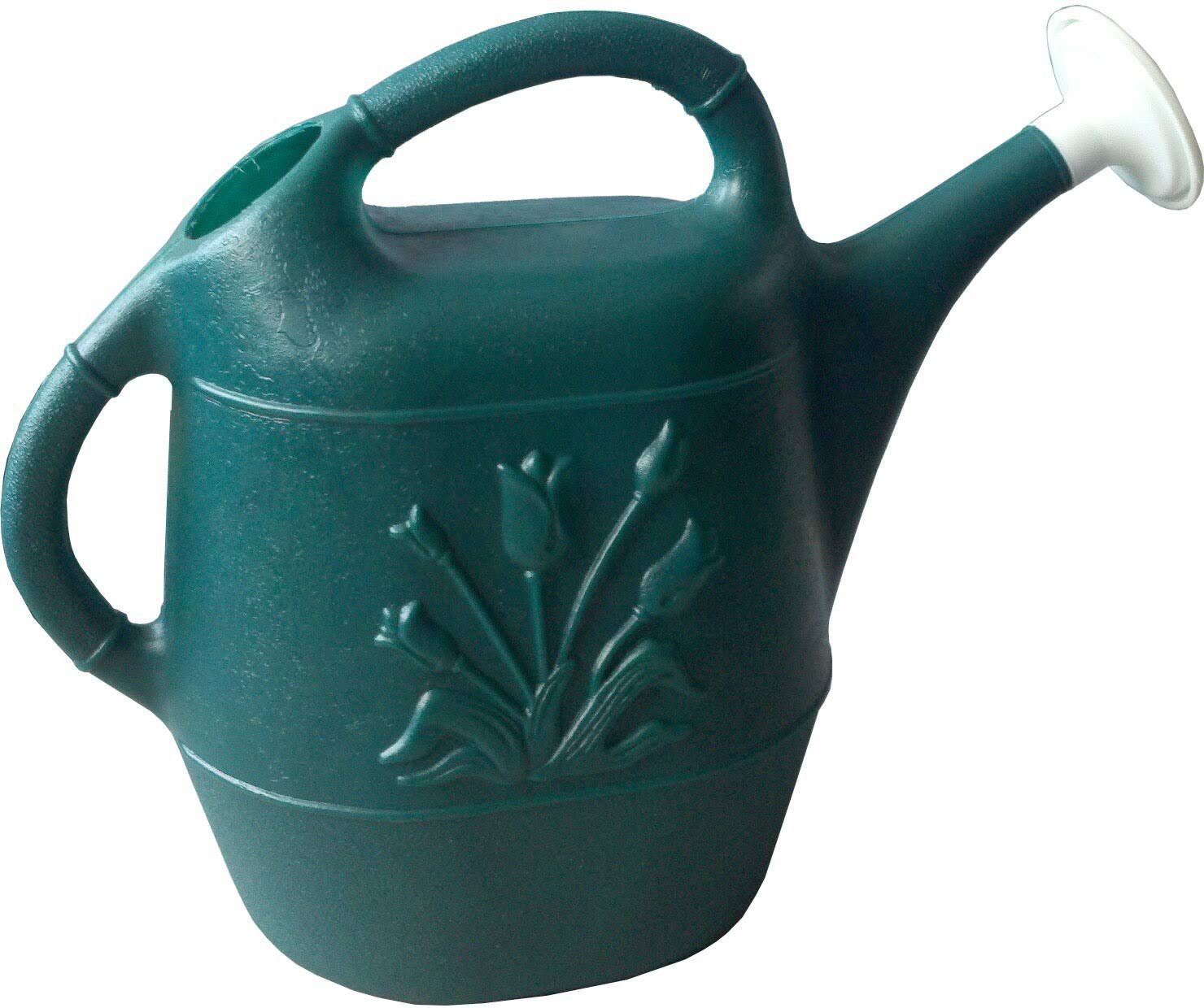 Union 2-Gallon Watering Can - Hunter Green