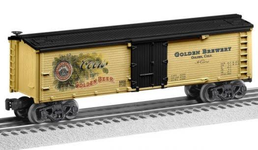 Lionel Trains Coors Heritage Beer Reefer Train Toy