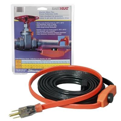 Easy Heat Cold Weather Valve & Pipe Heating Cable - 6'