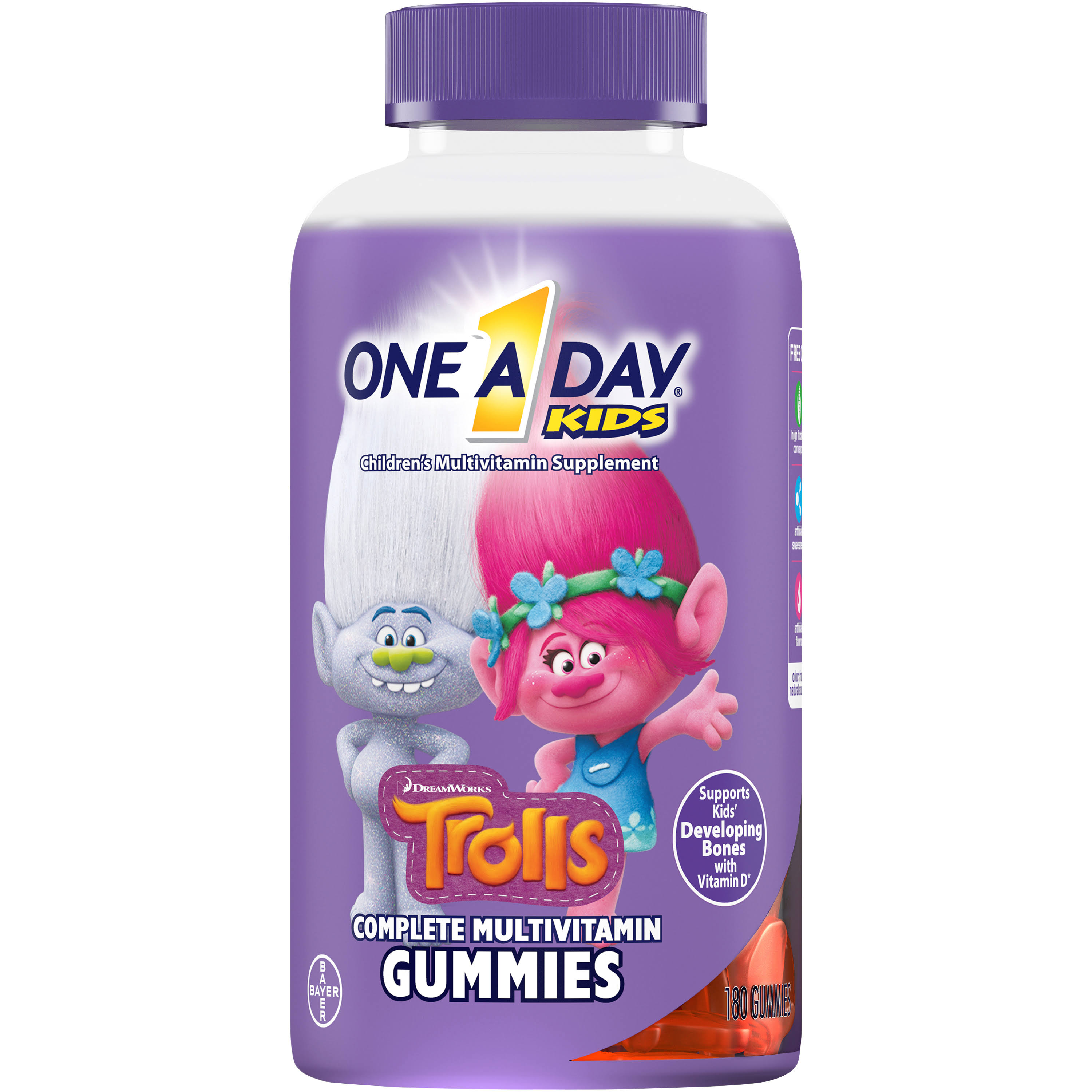 One A Day Kids Trolls Complete Multivitamin Gummies - x180