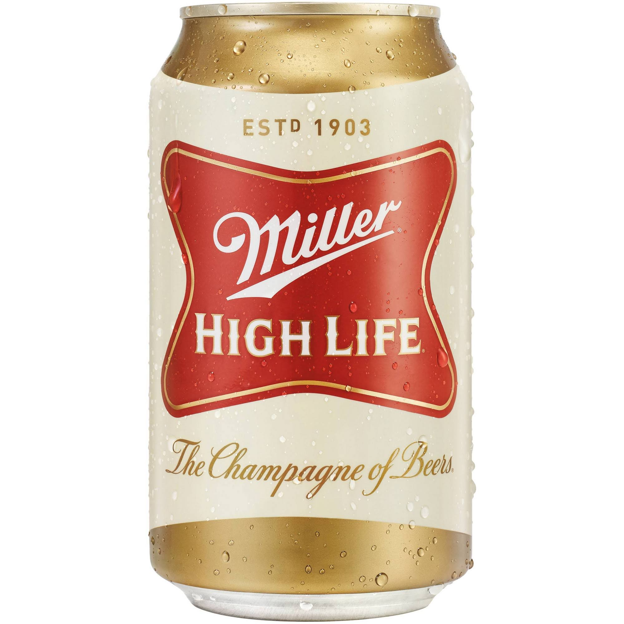 Miller High Life Beer - 12oz