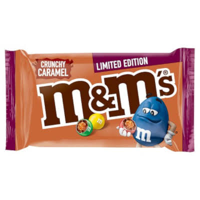 M&M's Limited Edition Crunchy Caramel - 36g