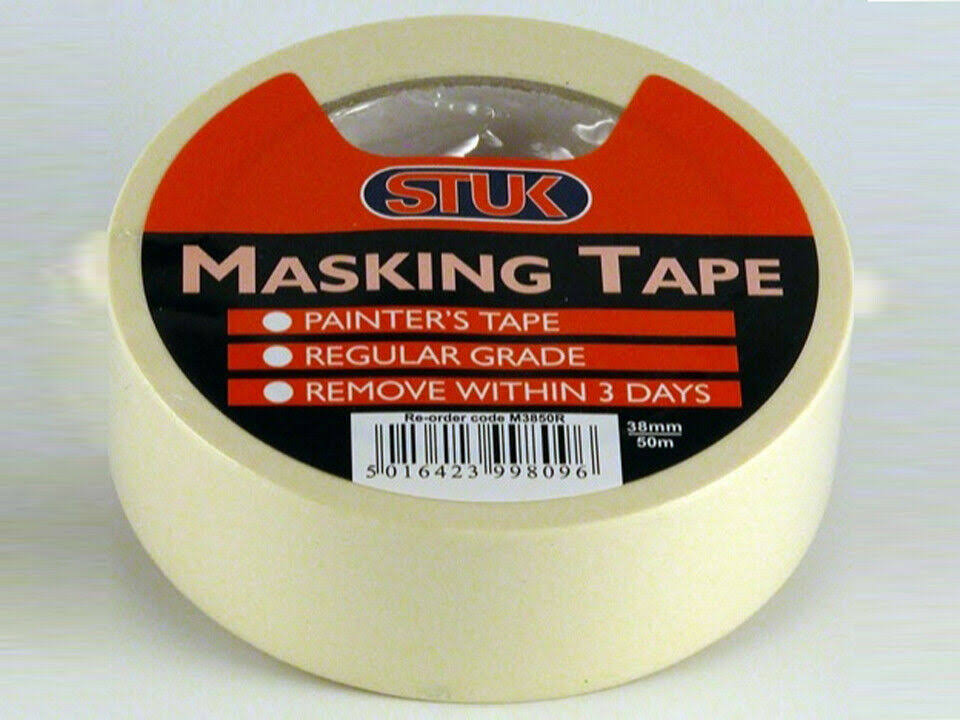 STUK Professional Masking Tape - Cream, 50m