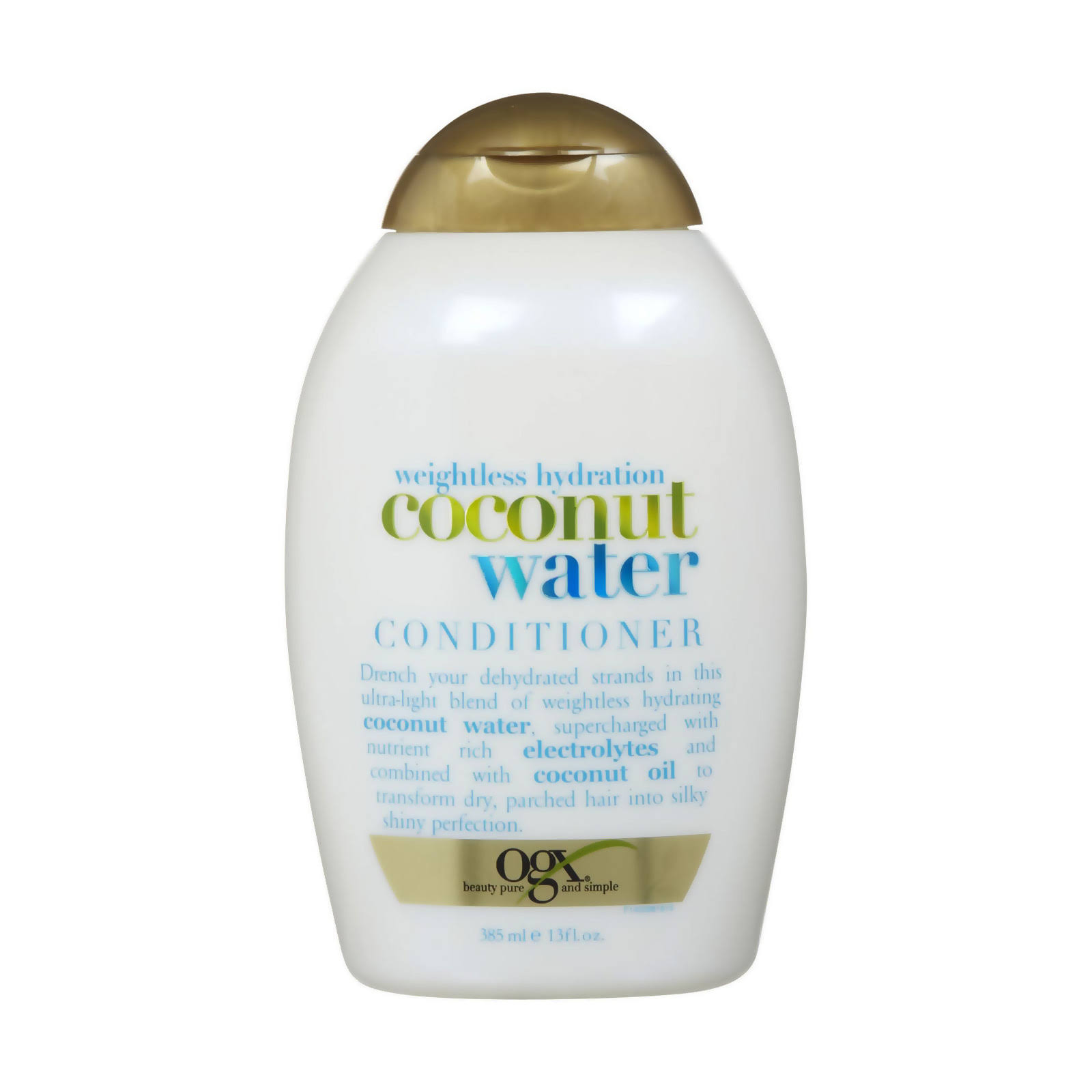 Ogx Weightless Hydration Plus Coconut Water Conditioner - 13oz