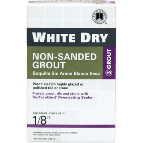 Custom Building Products Non-Sanded Grout - White