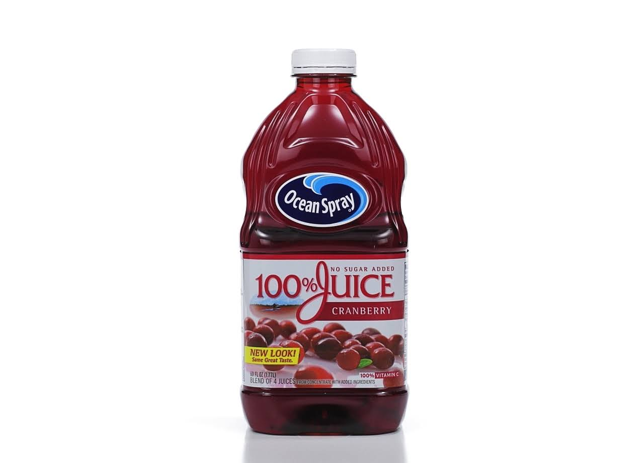 Ocean Spray 100% Cranberry Juice - 60oz