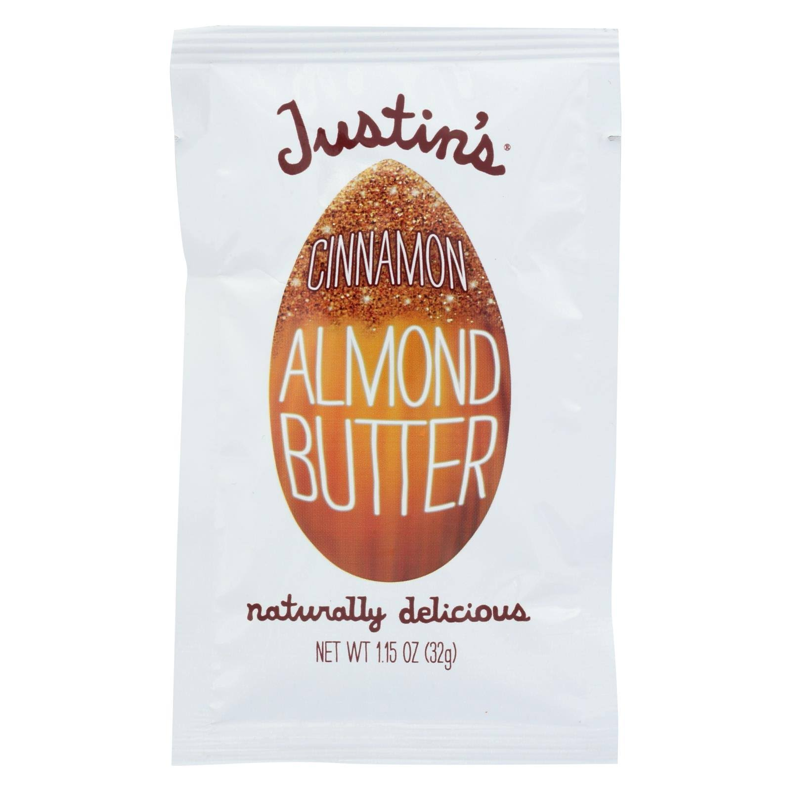 Justins Butter, Almond, Cinnamon - 1.15 oz
