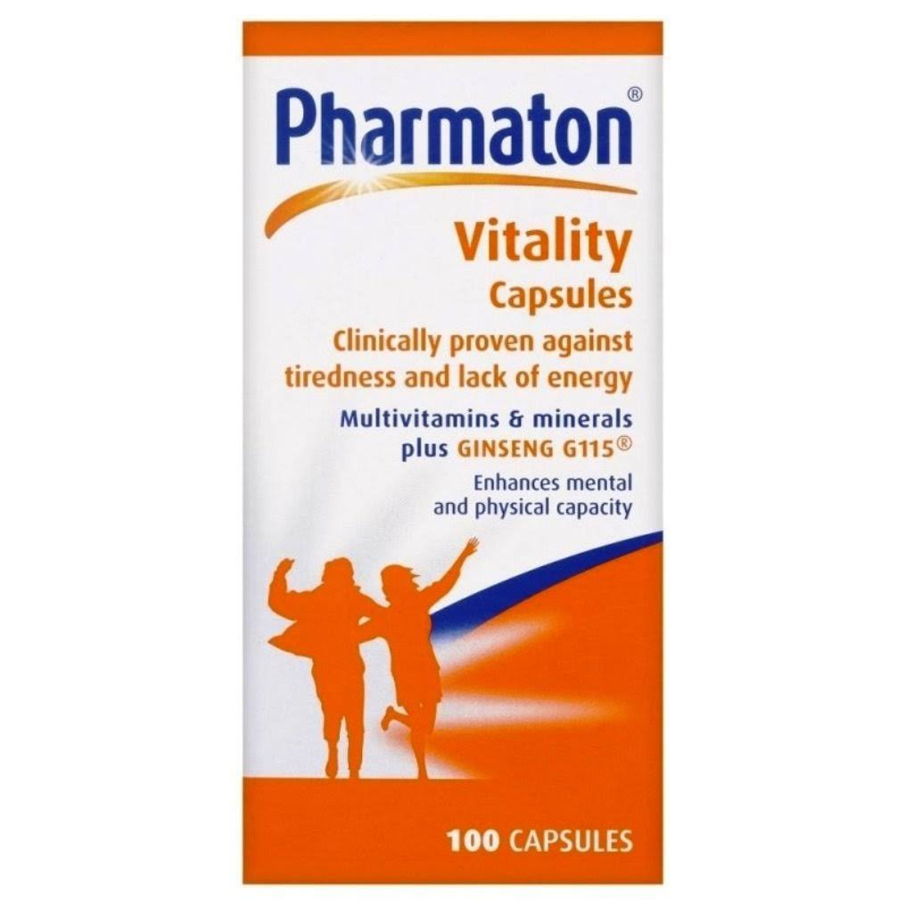 Pharmaton Capsules Relief of Daily Fatigue 100