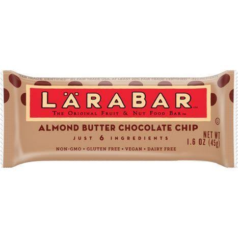 Larabar Fruit & Nut Food Bar, The Original, Almond Butter Chocolate Chip - 1.8 oz