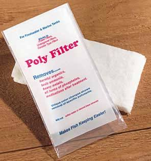 Poly Filters Aquarium Phosphate Control