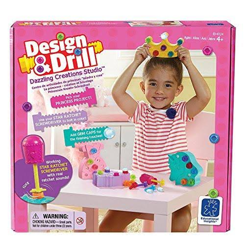 Learning Resources Design Drill Dazzling Creations Studio Activity Set
