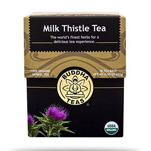Buddha Teas Milk Thistle Tea - 18ct, 27g