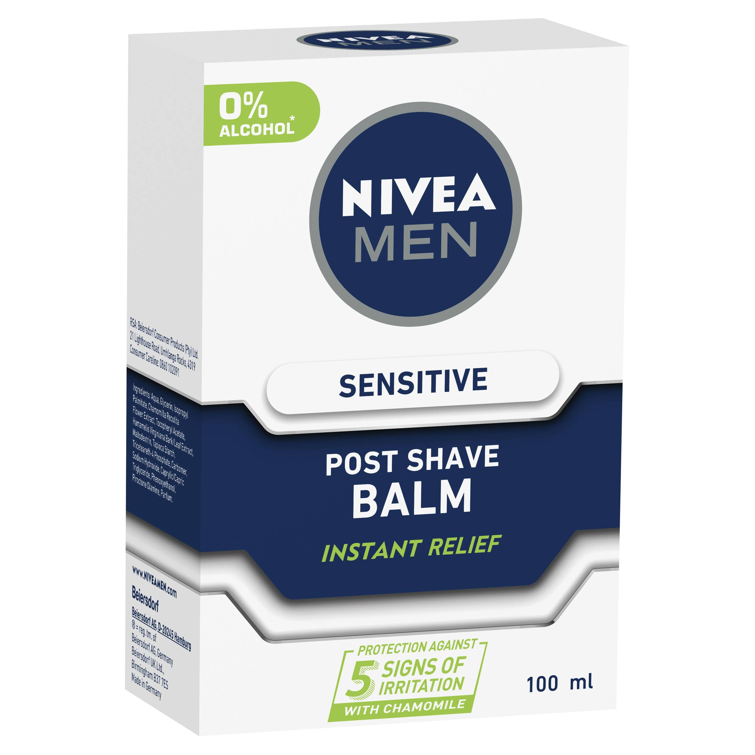 Nivea Men Sensitive Post Shave Balm - 100ml