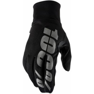 100 Percent Hydromatic Waterproof Gloves - Black, Large