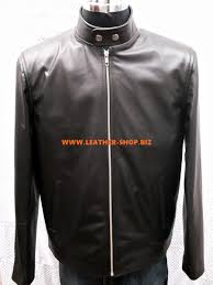 leather jacket custom made racer style mlj250 www leather shop biz