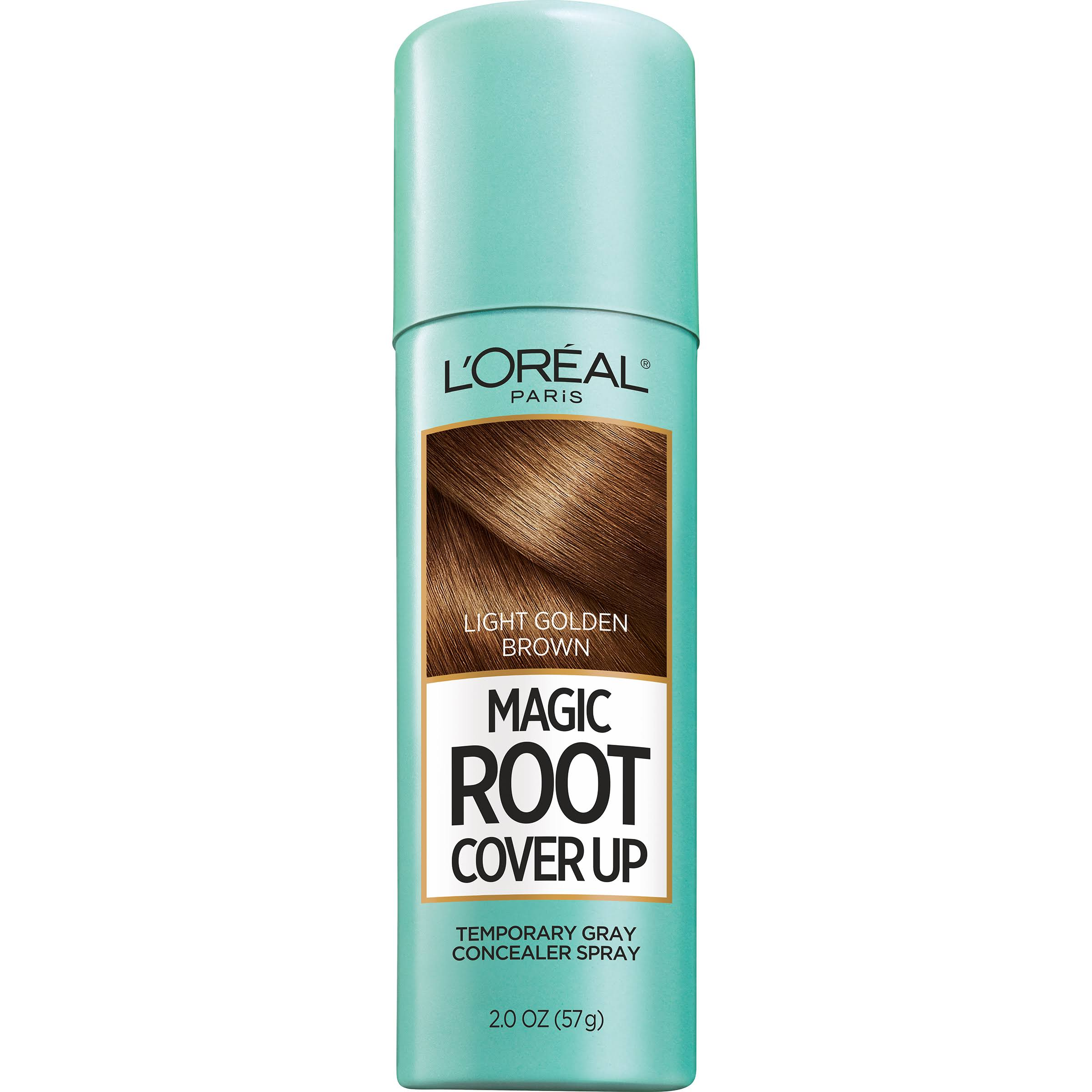 L'Oréal Paris Magic Root Cover Up Systems - Light Golden Brown, 2.0oz