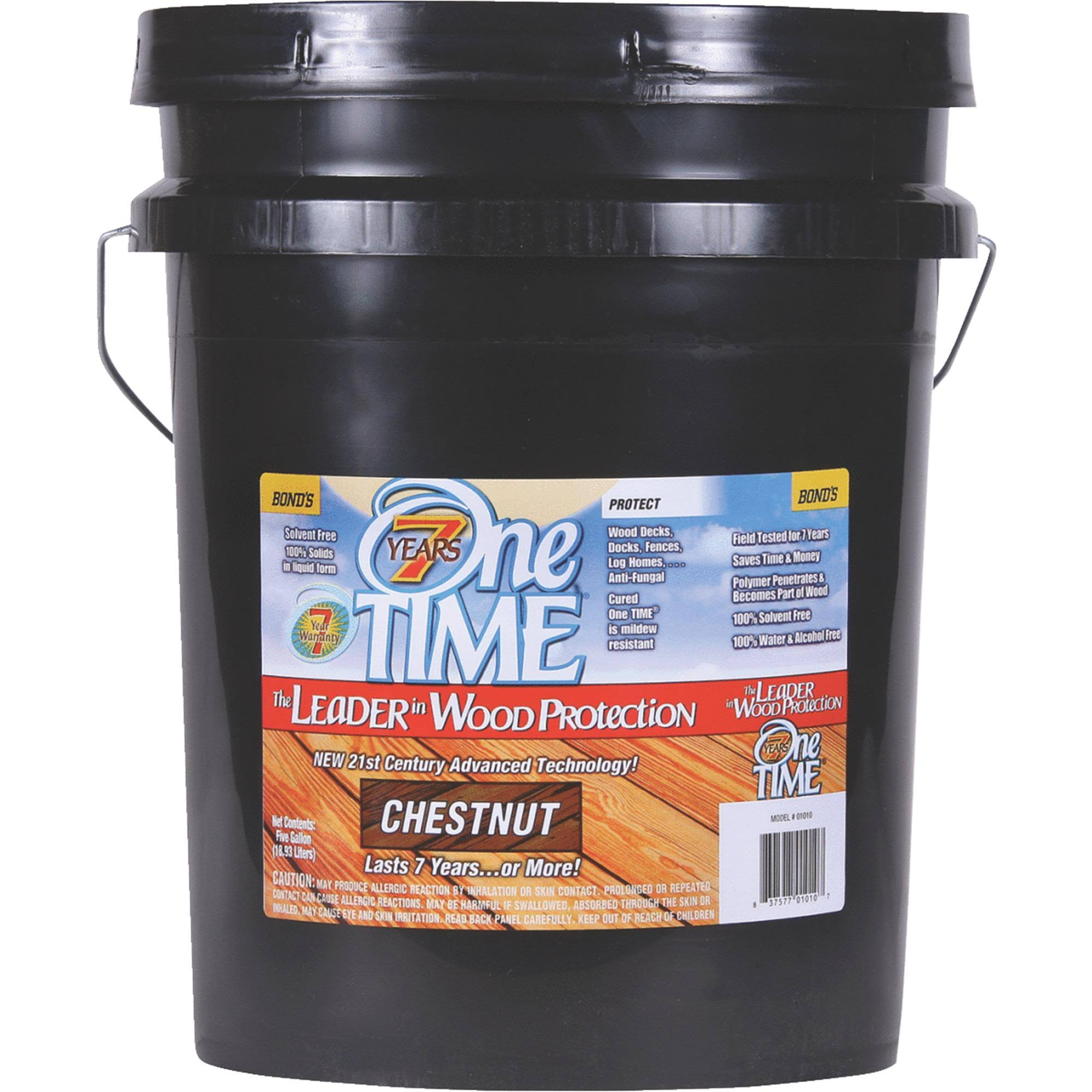 One Time Wood Preservative, Protector & Stain All in One
