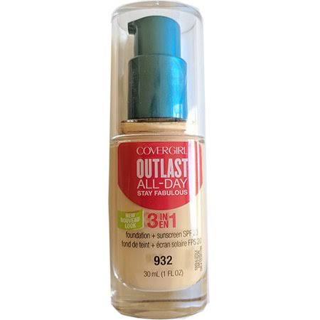 Outlast Stay Fabulous 3in1 Foundation - Nude Beige, 30ml