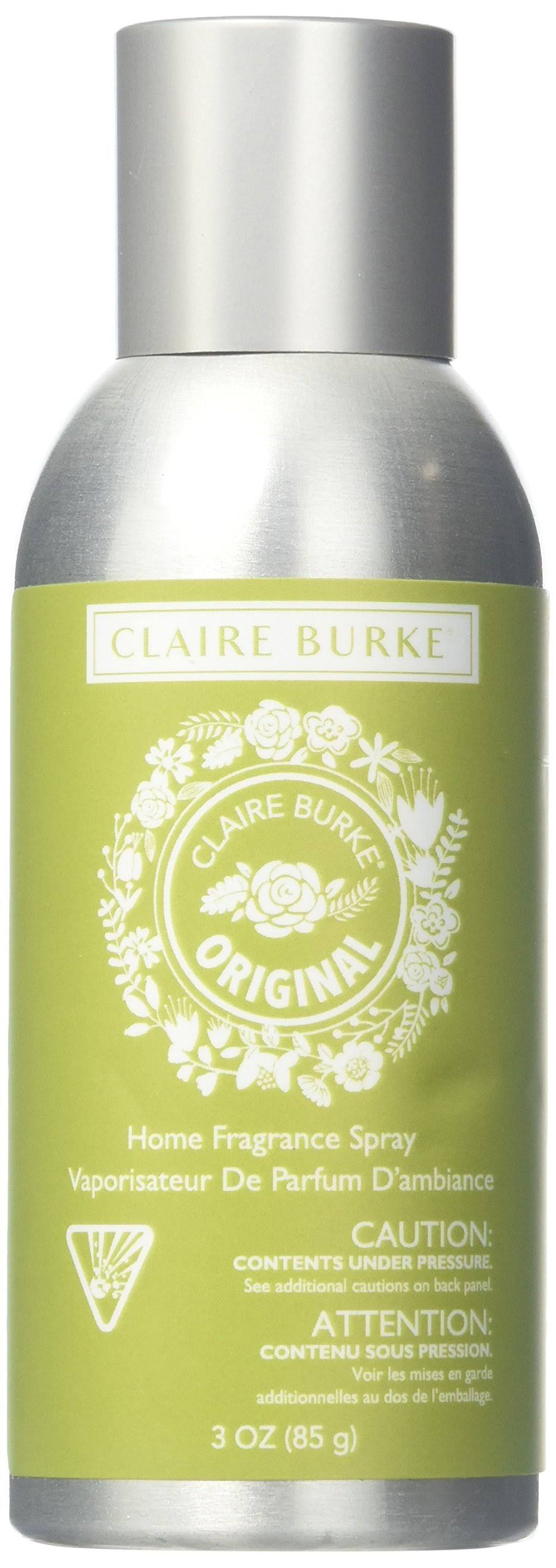 Claire Burke Original Home Spray Kitchen Décor Fragrance Scent, Small, Green
