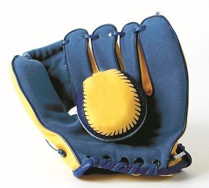 Toysmith Easy Catch Ball & Glove, Assorted Color
