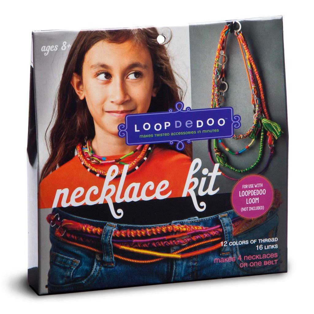 Loopdedoo Expansion Kits - Necklaces, 16 Links, 12 Threads
