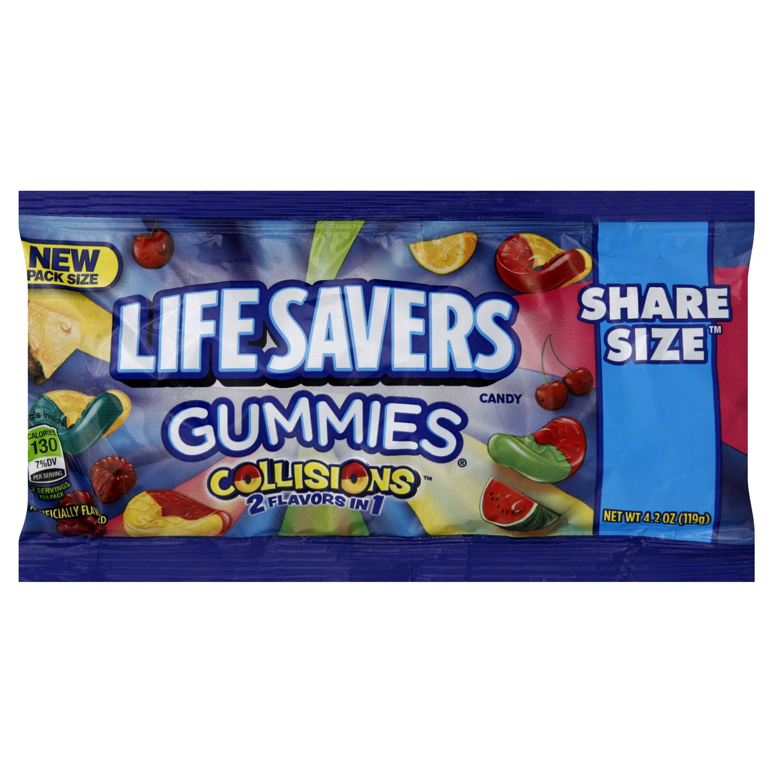 Lifesavers Collisions Gummies Candy - 4.2oz
