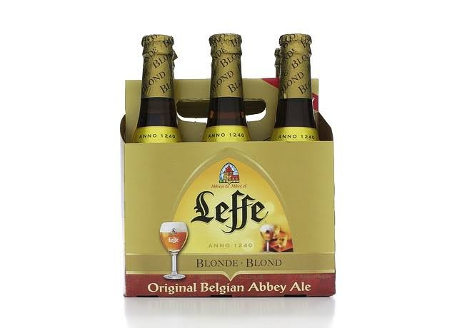 Leffe Ale, Original Belgian Abbey - 6 pack, 11.2 fl oz bottles