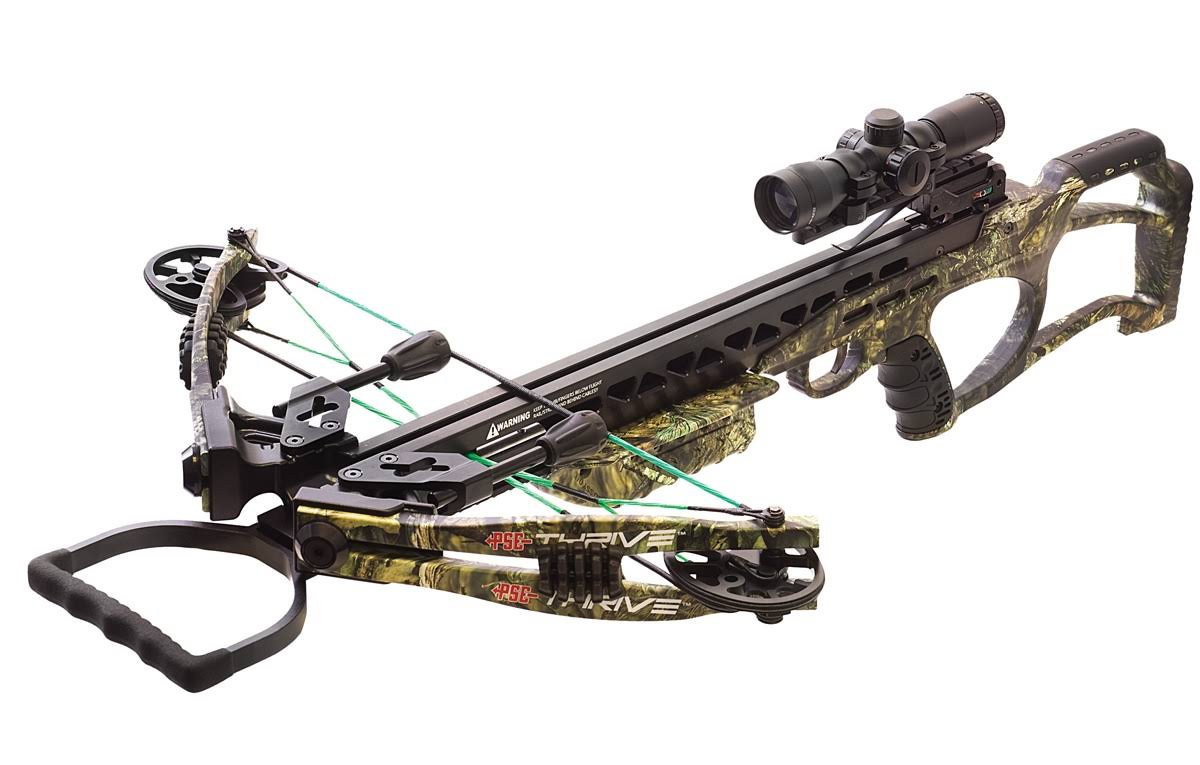 Pse Thrive 365 Crossbow - Mossy Oak Country, 165lbs