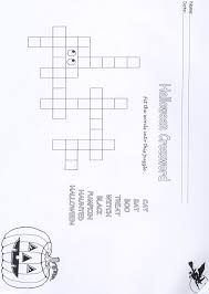 Haunted Halloween Crossword by Halloween