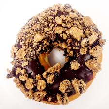 Dunkin Donuts Pumpkin Donut Ingredients by Dunkin U0027 Donuts Chips Ahoy Crunch Donut Review Popsugar Food