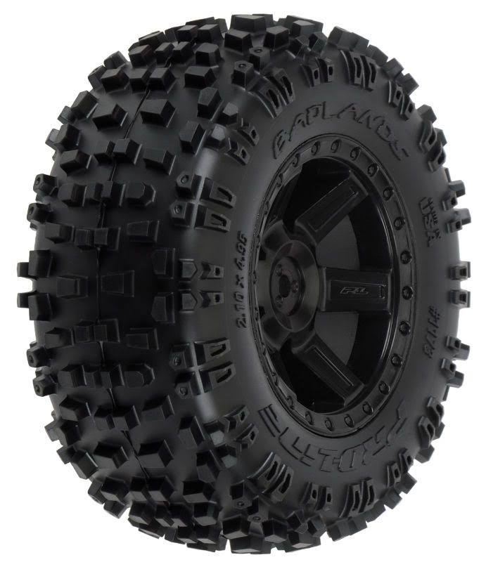 Pro-Line 1173-13 - Badlands 2.8 inch Mounted All-Terrain Rear Tires