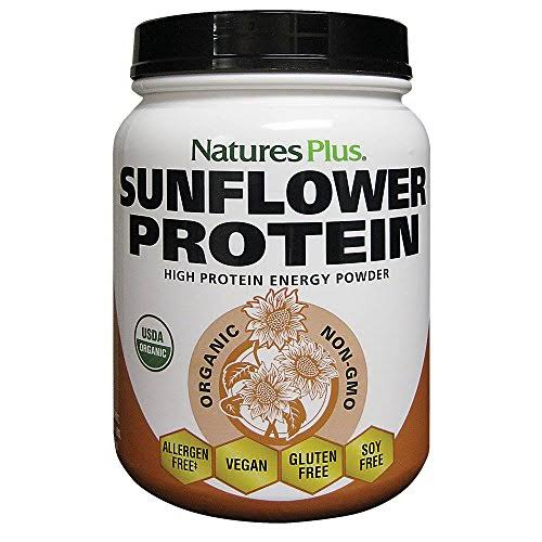 Natures Plus Organic Sunflower Protein Energy Powder - 1.22lbs