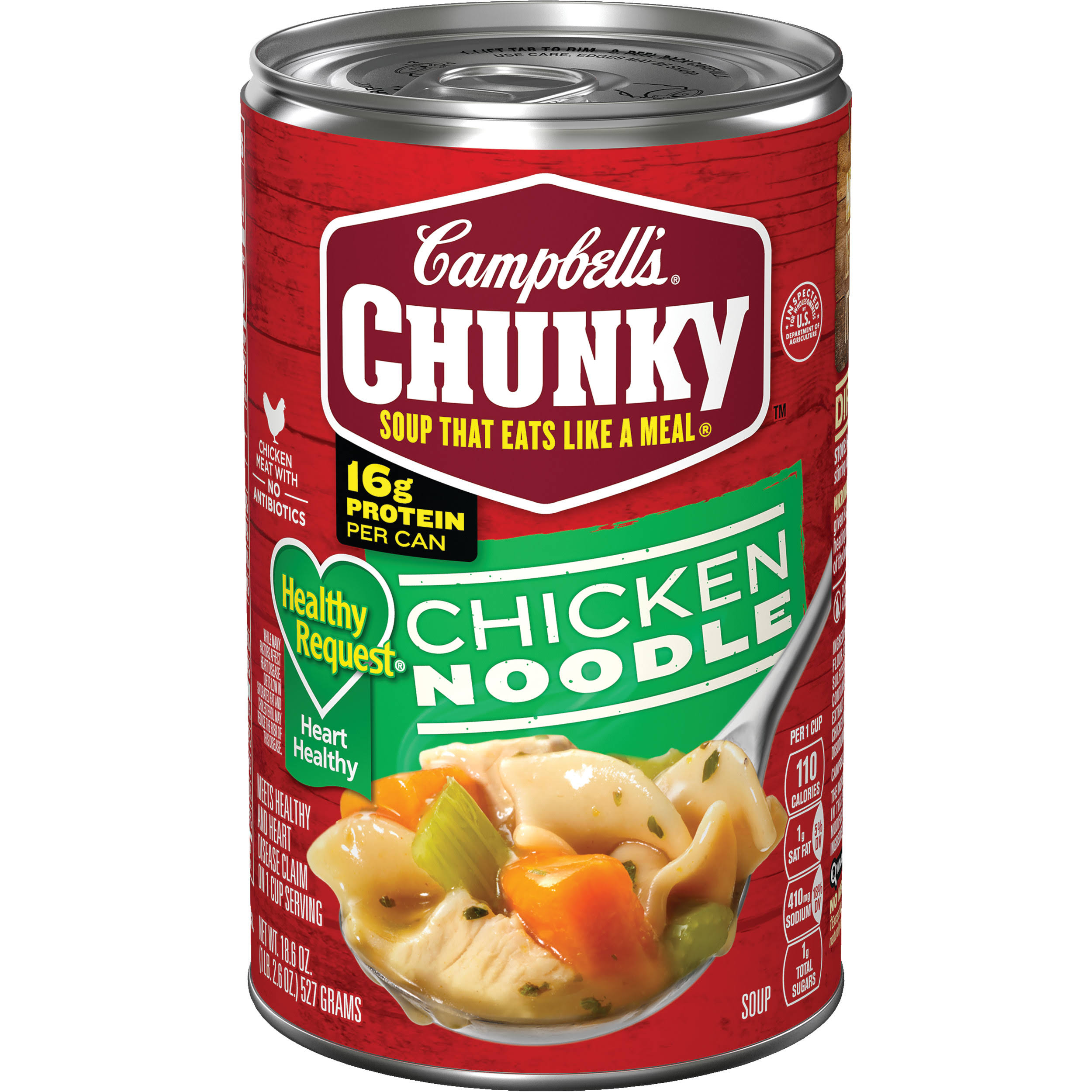 Campbell's Chunky Healthy Request Chicken Noodle Soup - 18.6oz