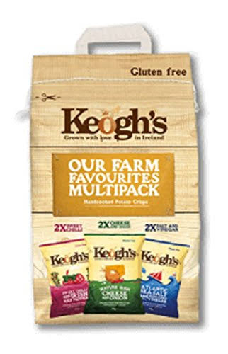 Keoghs Our Farm Favourites Variety - Pack of 6, 30g