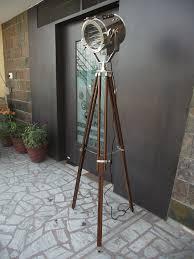 Photographers Tripod Floor Lamp by Vintage Nautical Tripod Floor Lamp Industrial Retro Amazon Ca