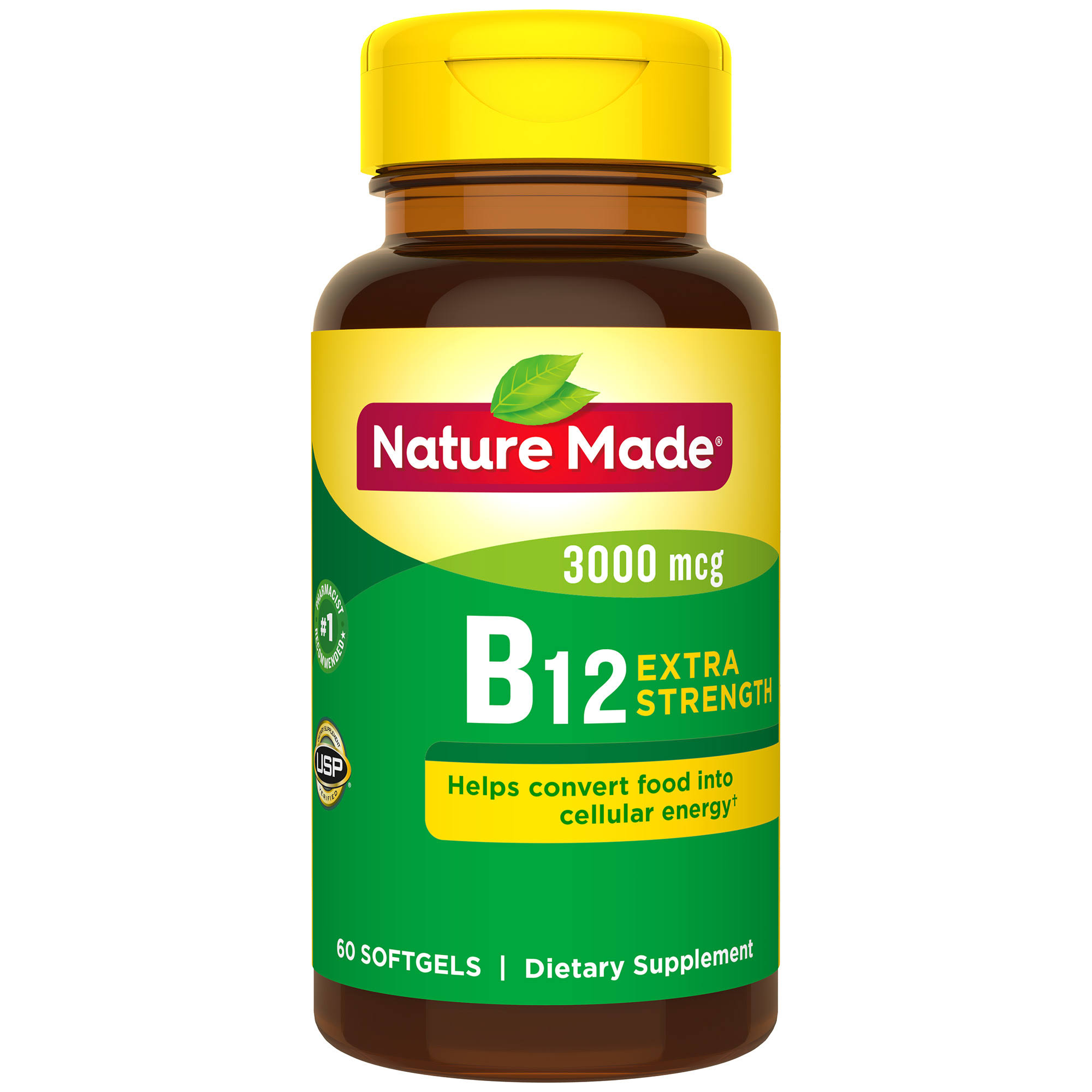Nature Made B 12 Supplements - 60ct