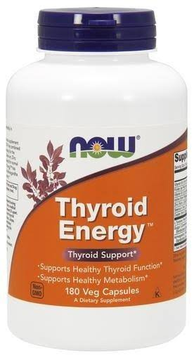 Now Thyroid Energy Dietary Supplement - 180 Veg Capsules