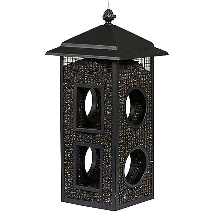 Woodstream Perky Pet Fly Through Wild Bird Feeder - Black