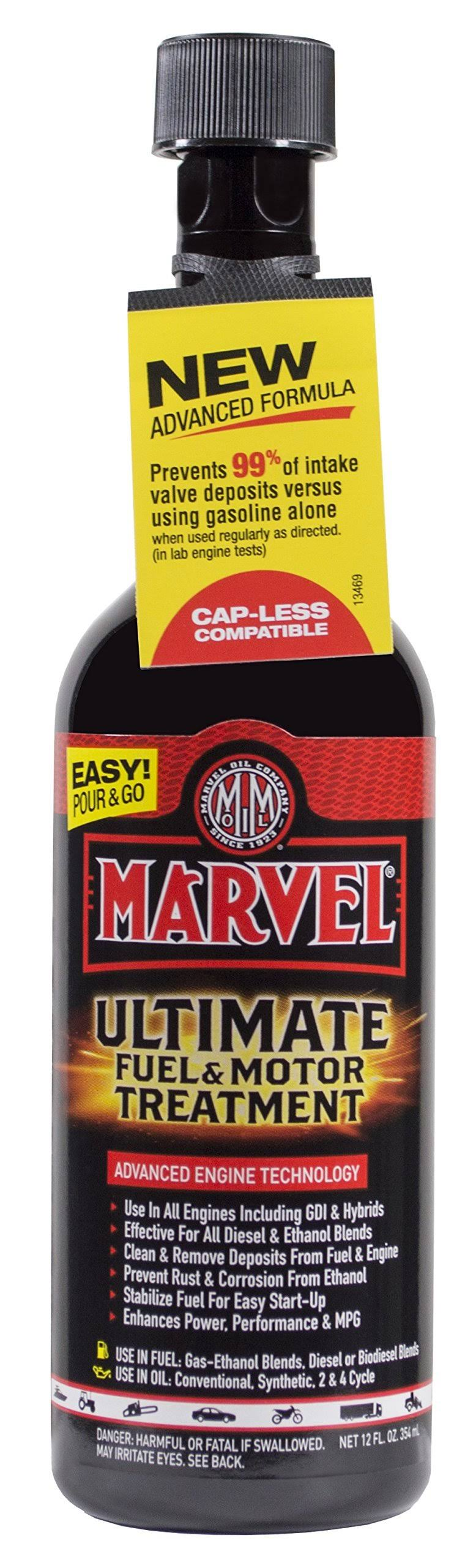 Marvel Mystery Oil Ultimate Fuel and Motor Treatment - 12oz