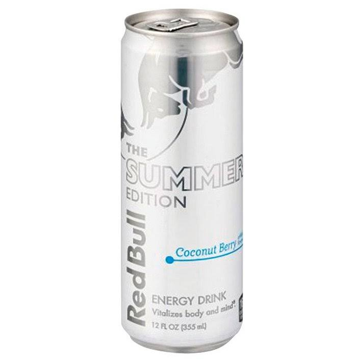 Red Bull Energy Drink, Coconut Berry - 12 fl oz