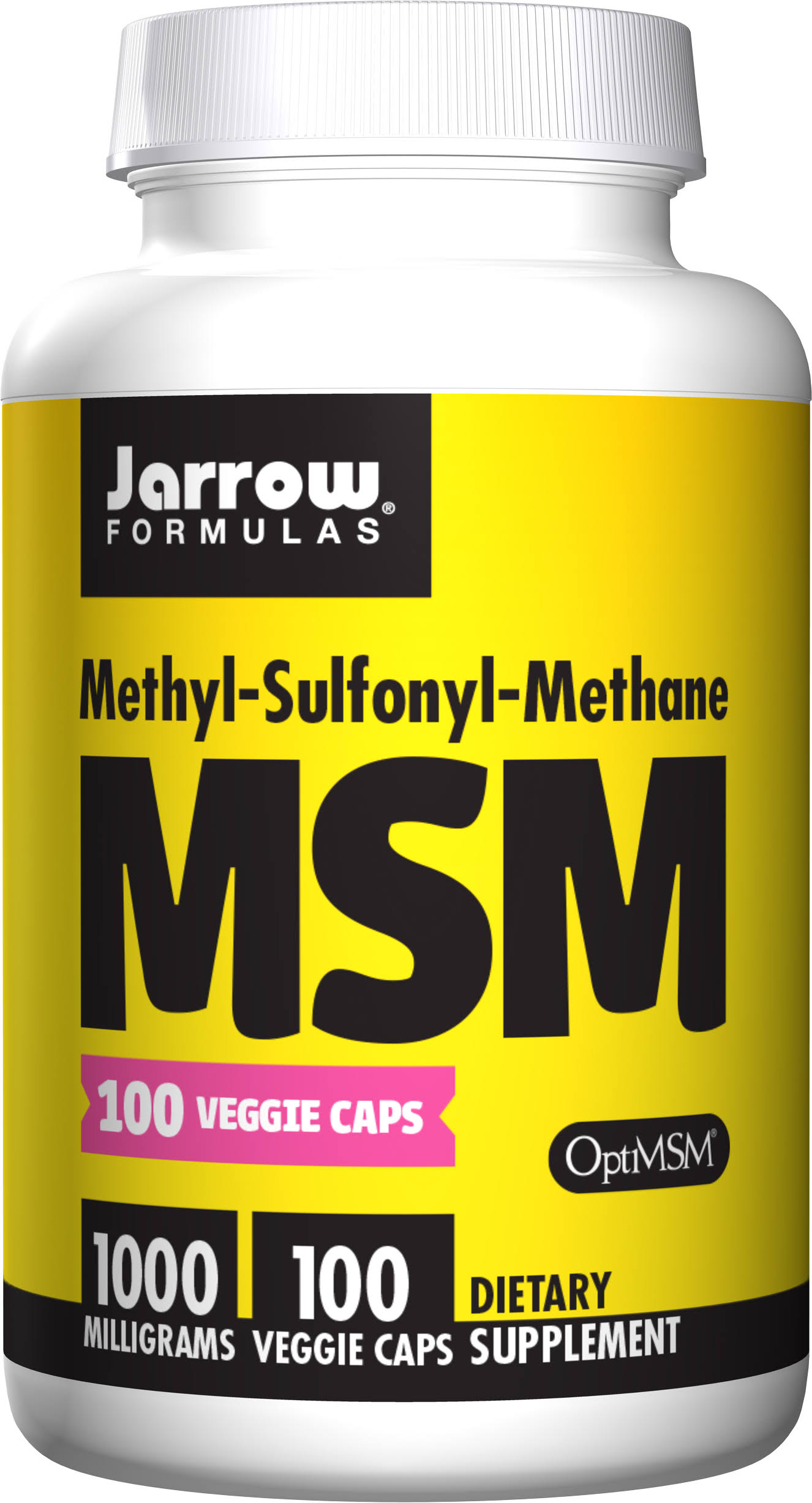 Jarrow Formulas Msm 100mg Dietary Supplement - 100 Capsules