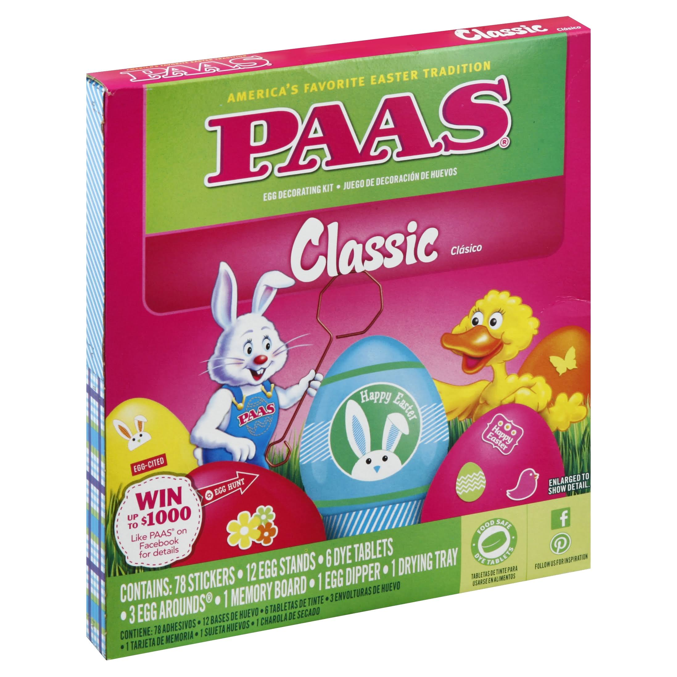 PAAS Egg Decorating Kit, Classic