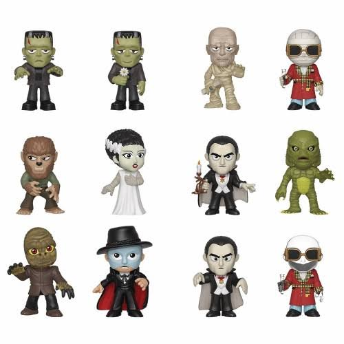Funko Mystery Mini Universal Studios Monsters Vinyl Figure - Pack of 12