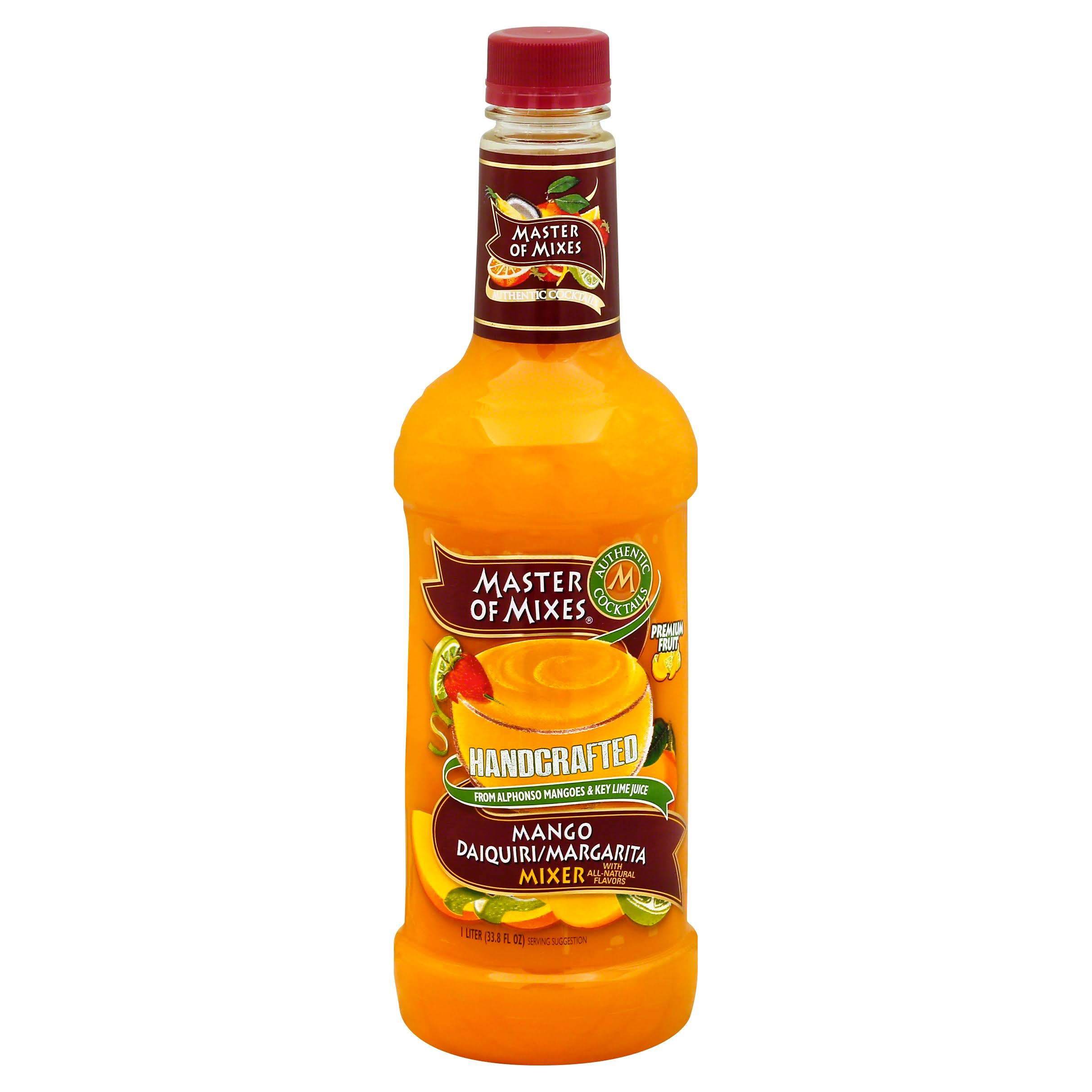 Master of Mixes Mango Daiquiri / Margarita Drink Mix - 1l