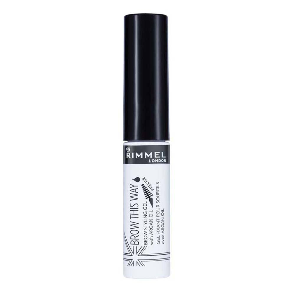 Rimmel London Brow this Way Brow Styling Gel - with Argan Oil, 004 Clear, 5ml